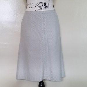 Banana Republic Diagonal Stripe Skirt.